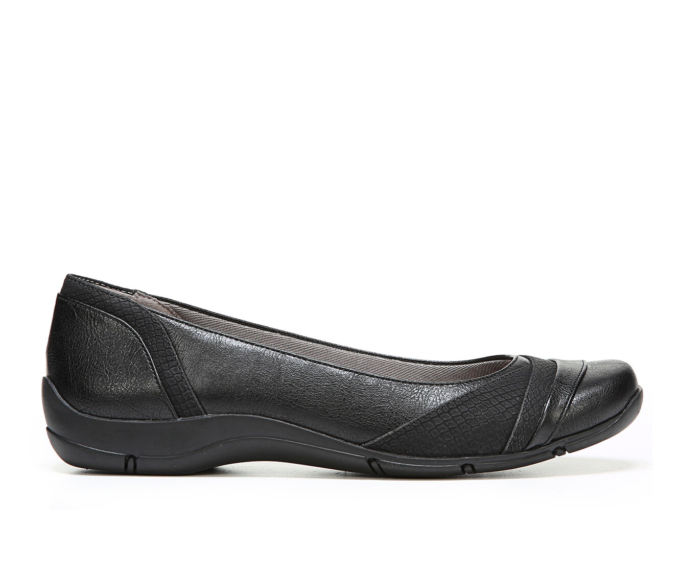 Women's LifeStride Dig Flats Black
