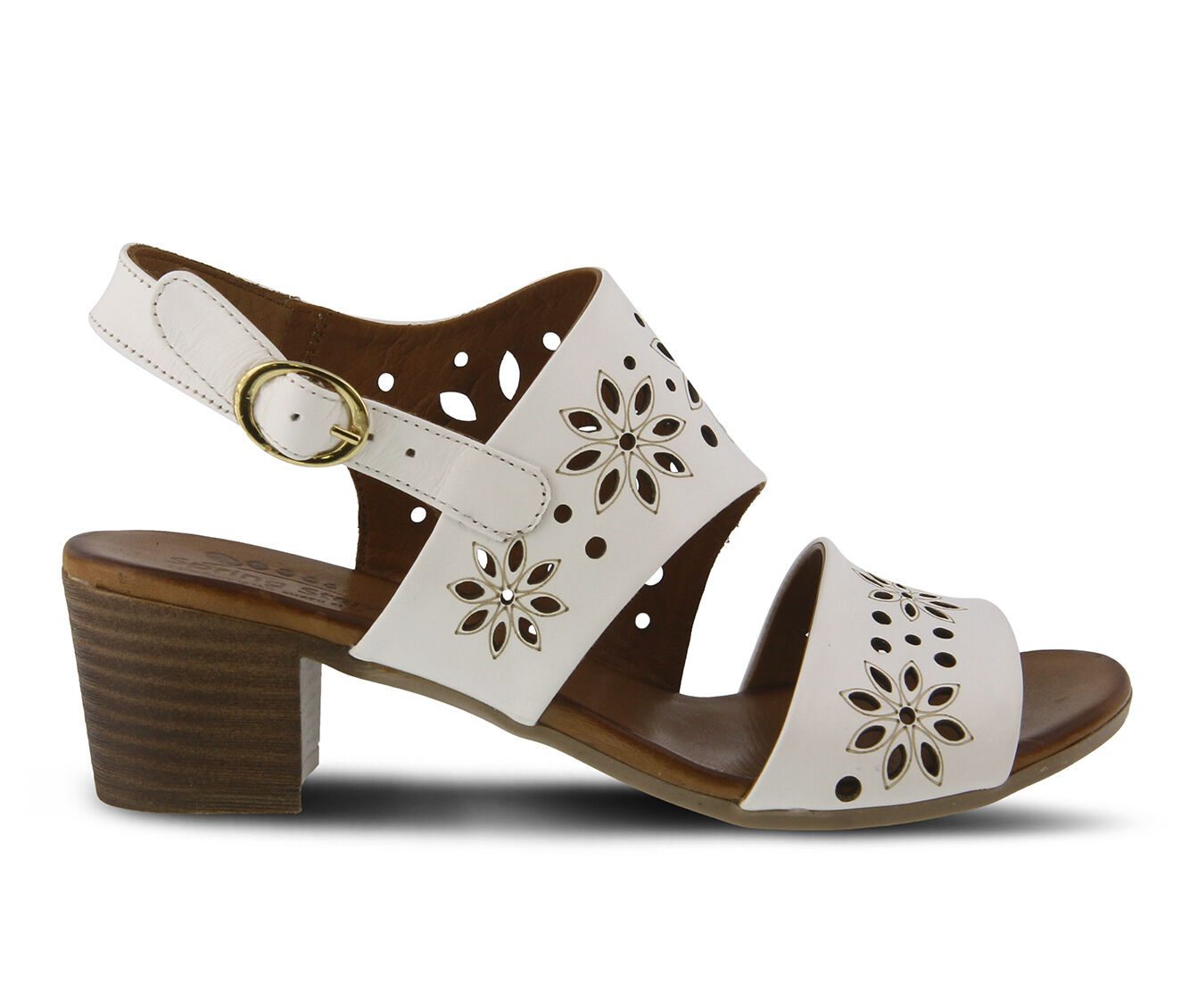 summer styles Women's SPRING STEP Mandalay Dress Sandals White
