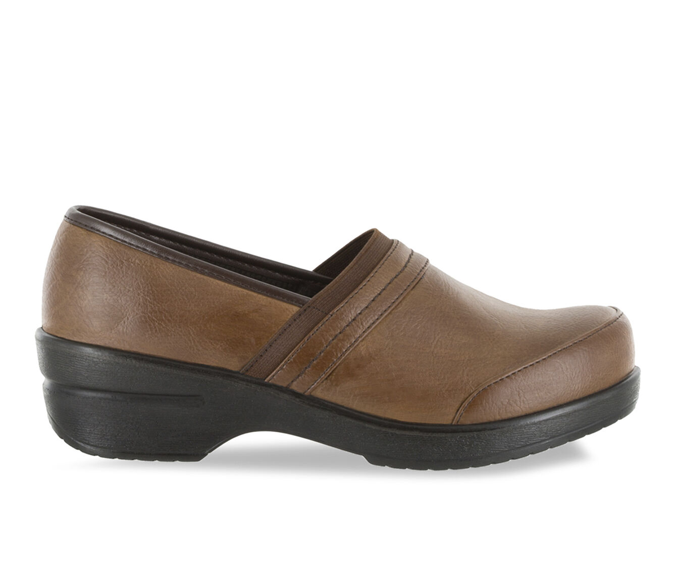 shop authentic new style Women's Easy Street Origin Clogs Tan Burnished