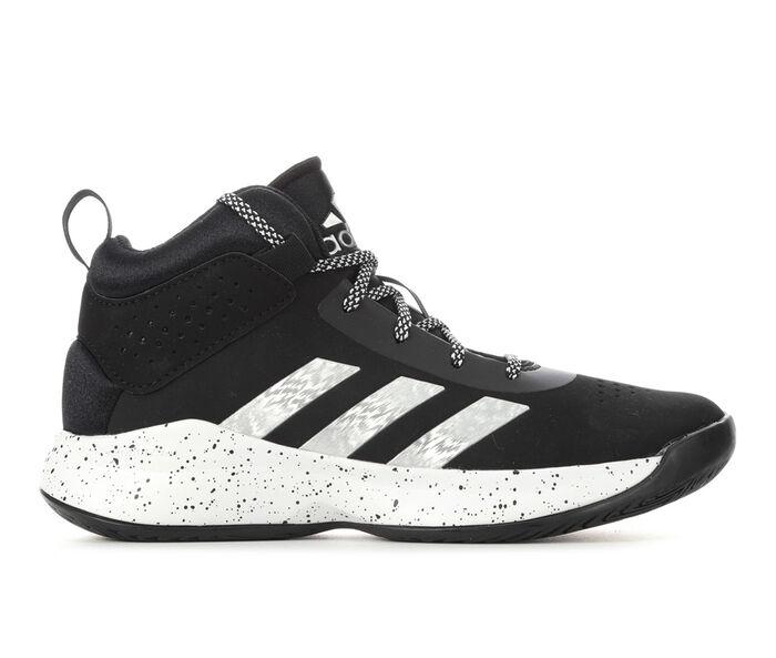 Boys' Adidas Little Kid & Big Kid Cross 'Em Up 5 Wide Width Basketball Shoes
