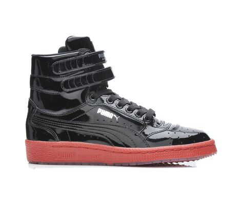 Boys' Puma Sky Hi Patent Jr. 4-7 Sneakers