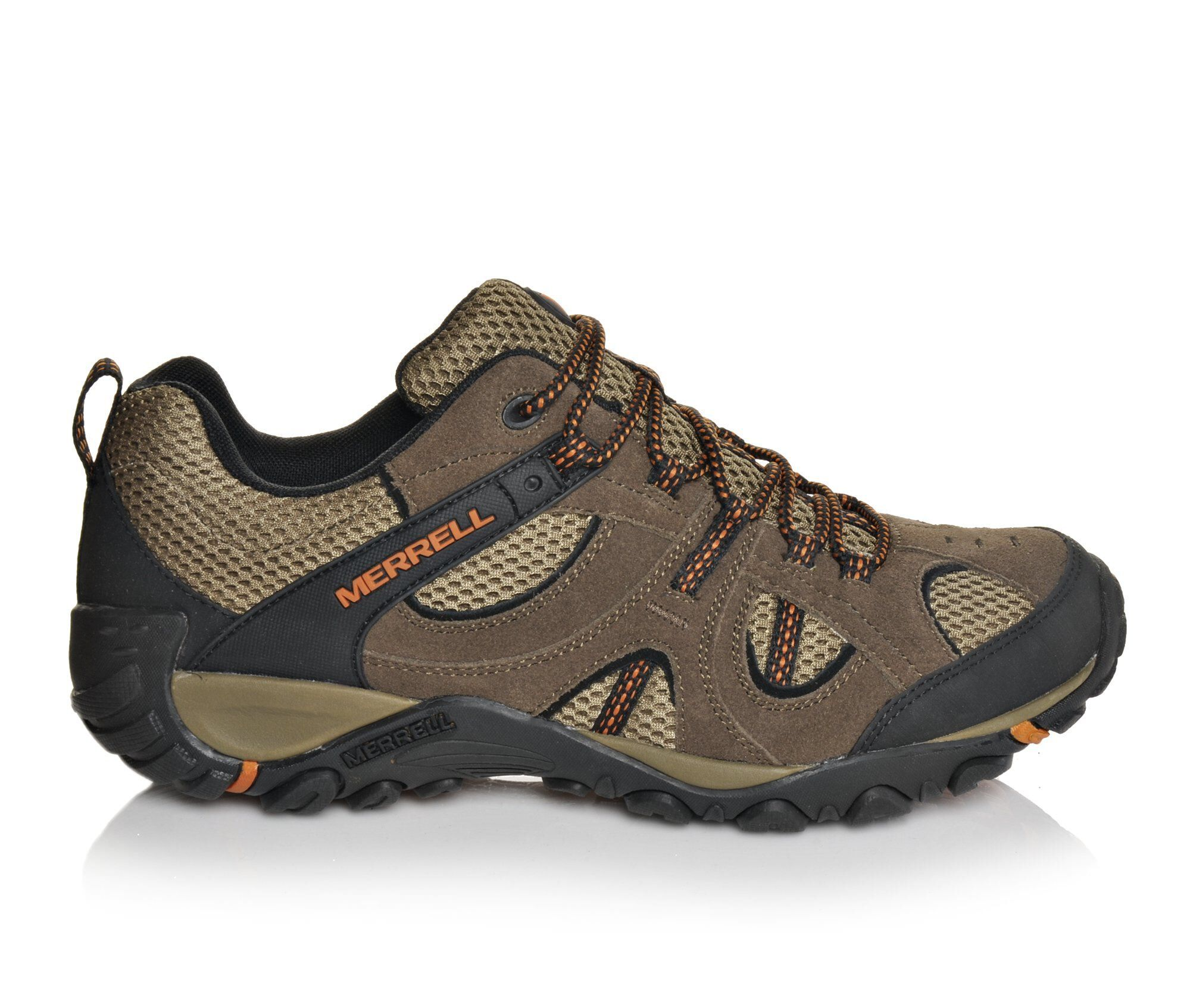Men's Merrell Yokota Trail Ventilator Hiking Boots Stone/Orange