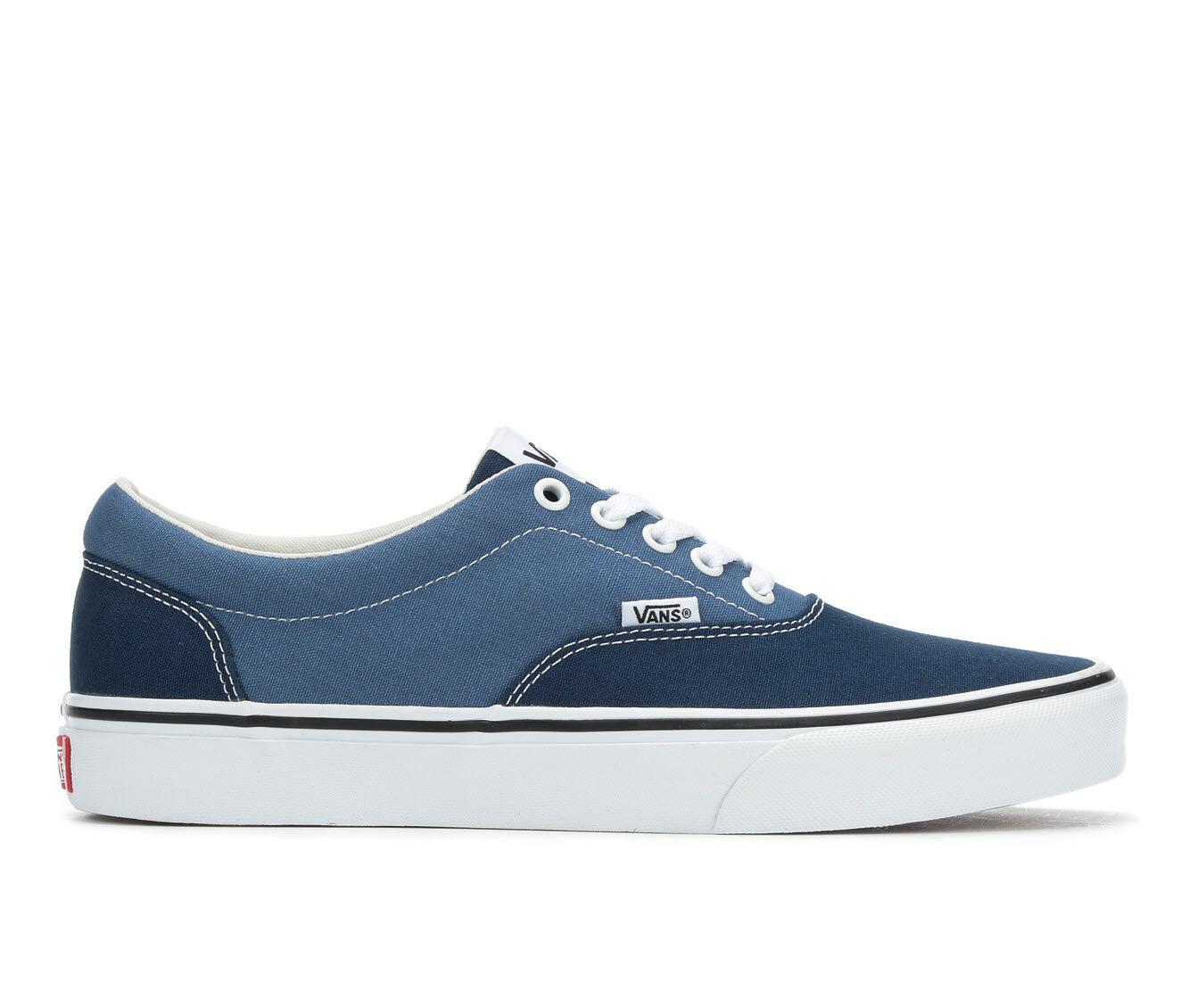 Men's Vans Doheny Skate Shoes Blue/Navy