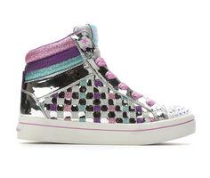 Girls' Skechers Little Kid & Big Kid Sparkle Status Light-Up Sneakers