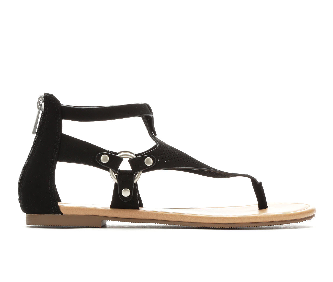 best cheap Women's Y-Not Yucca T-Strap Sandals Black