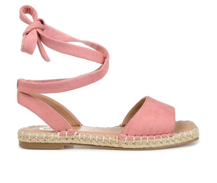 Women's Journee Collection Emelie Espadrille Tie-Up Sandals