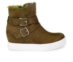 Women's Journee Collection Angelique Wedge Sneaker Boots