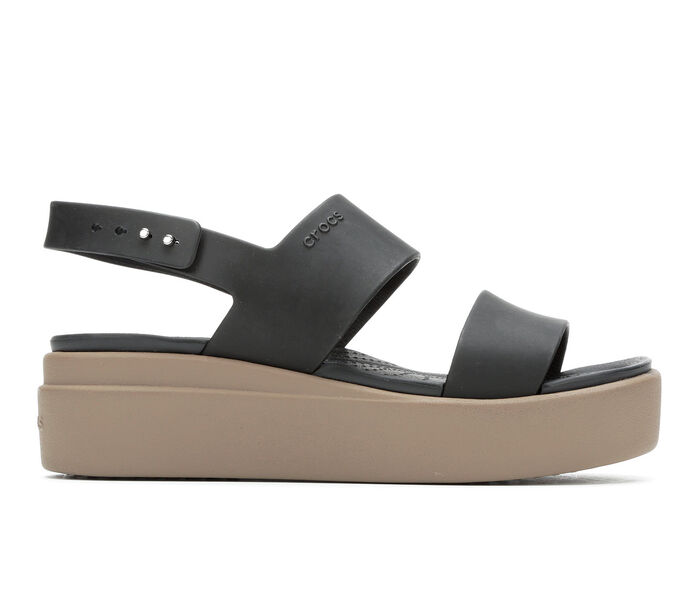 Women's Crocs Brooklyn Low Wedge Sandals