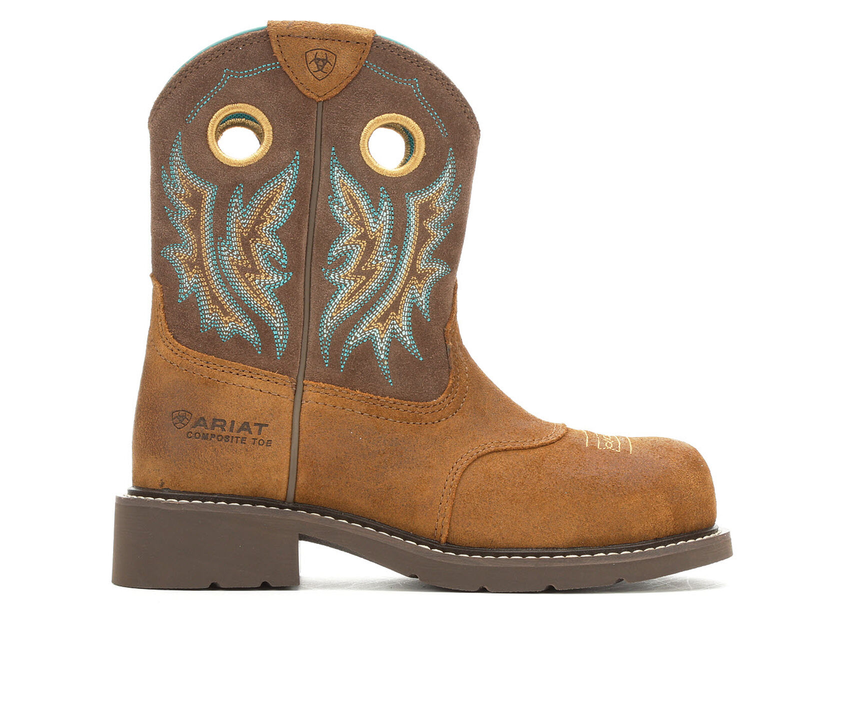 22cdf01f5c5 Women's Ariat Fatbaby Cowgirl Composite Toe Work Boots