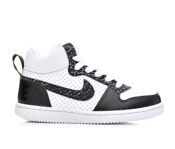 Boys' Nike Court Borough Mid Premium 10.5-3 Sneakers