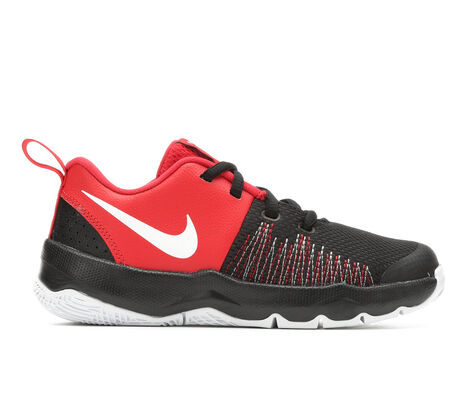 Boys' Nike Team Hustle Quick 10.5-3 Basketball Shoes