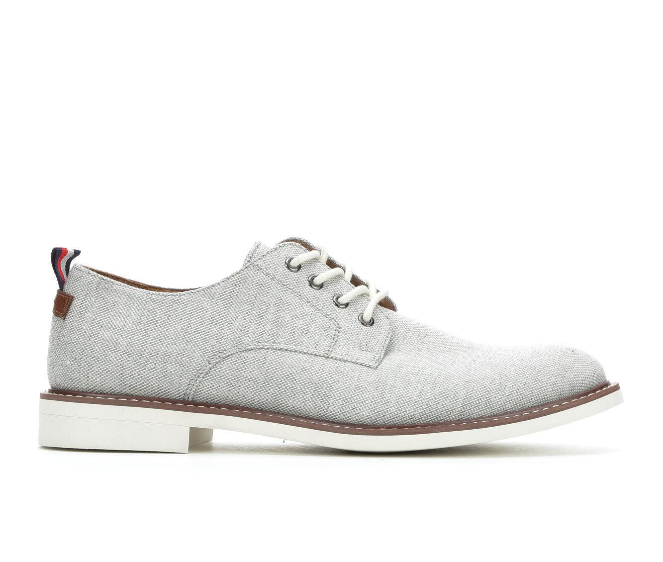 Men's Tommy Hilfiger Garson 4 Dress Shoes Grey Chambray