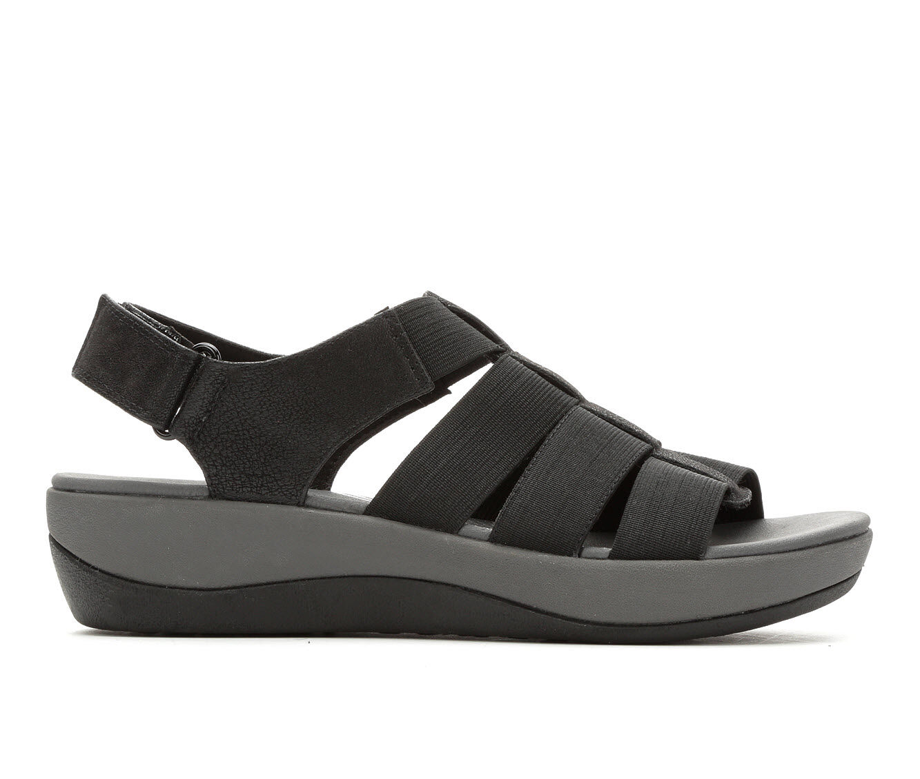 Women's Clarks Arla Shaylie Sandals Black