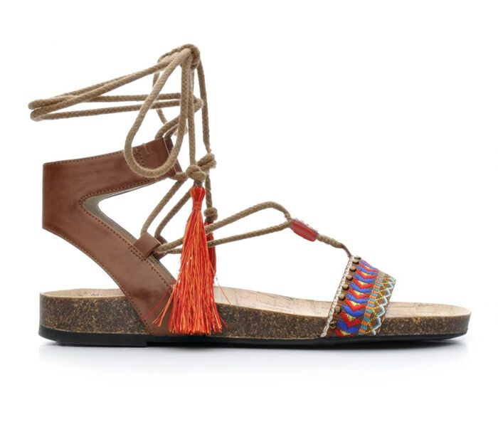 Women's Circus by Sam Edelman Kerri Lace-Up Footbed Sandals