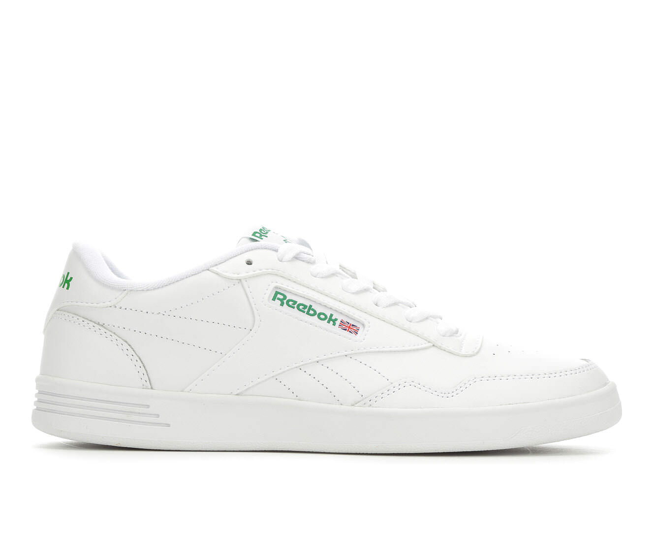 Men's Reebok Club MEMT Tennis Shoes White/Green