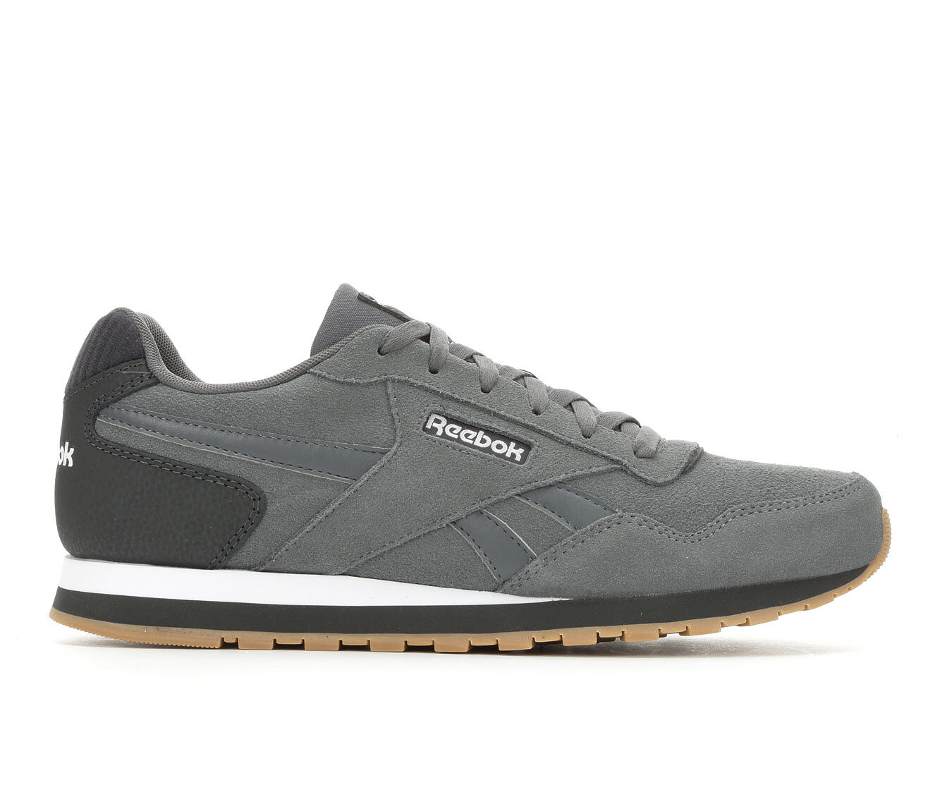 Men's Reebok Harman Retro Sneakers Gry/ Dk Gy/ Wht
