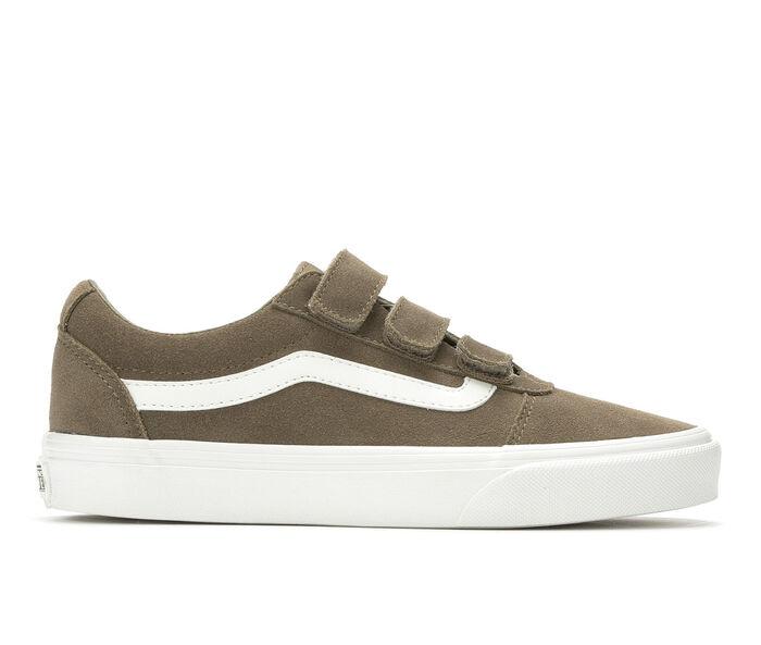 Women's Vans Ward Velcro Suede Skate Shoes