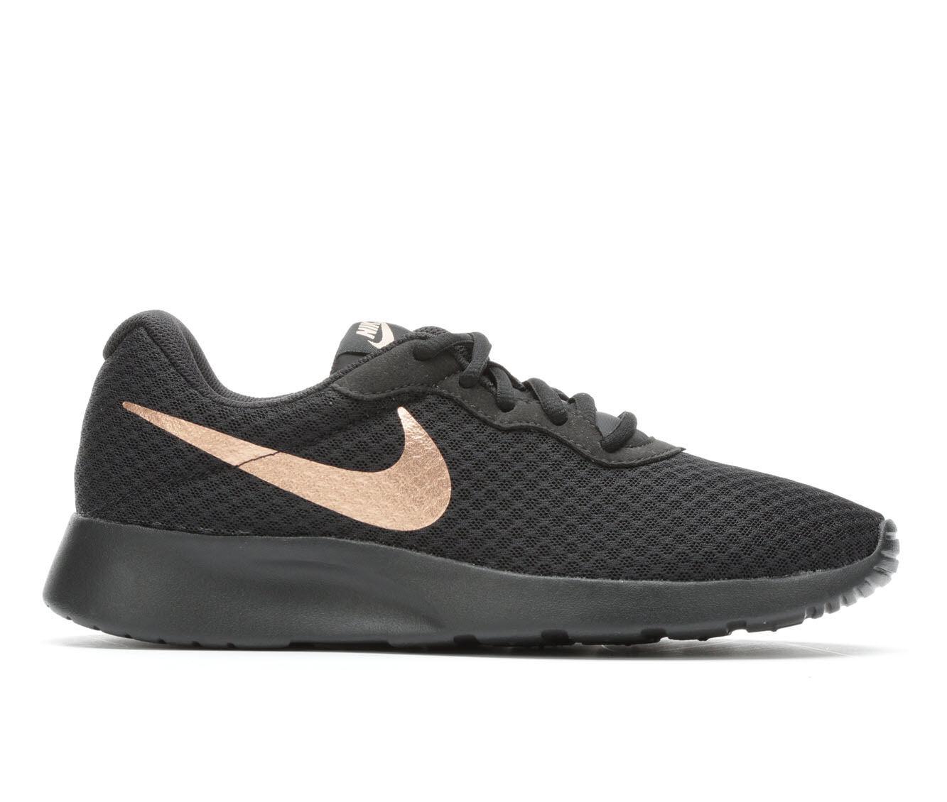 Authentic Store Women's Nike Tanjun Sneakers Blk/Red Bronze