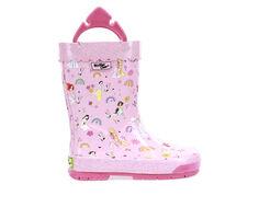 Girls' Western Chief Little Kid & Big Kid Princess Flower Child Rain Boots