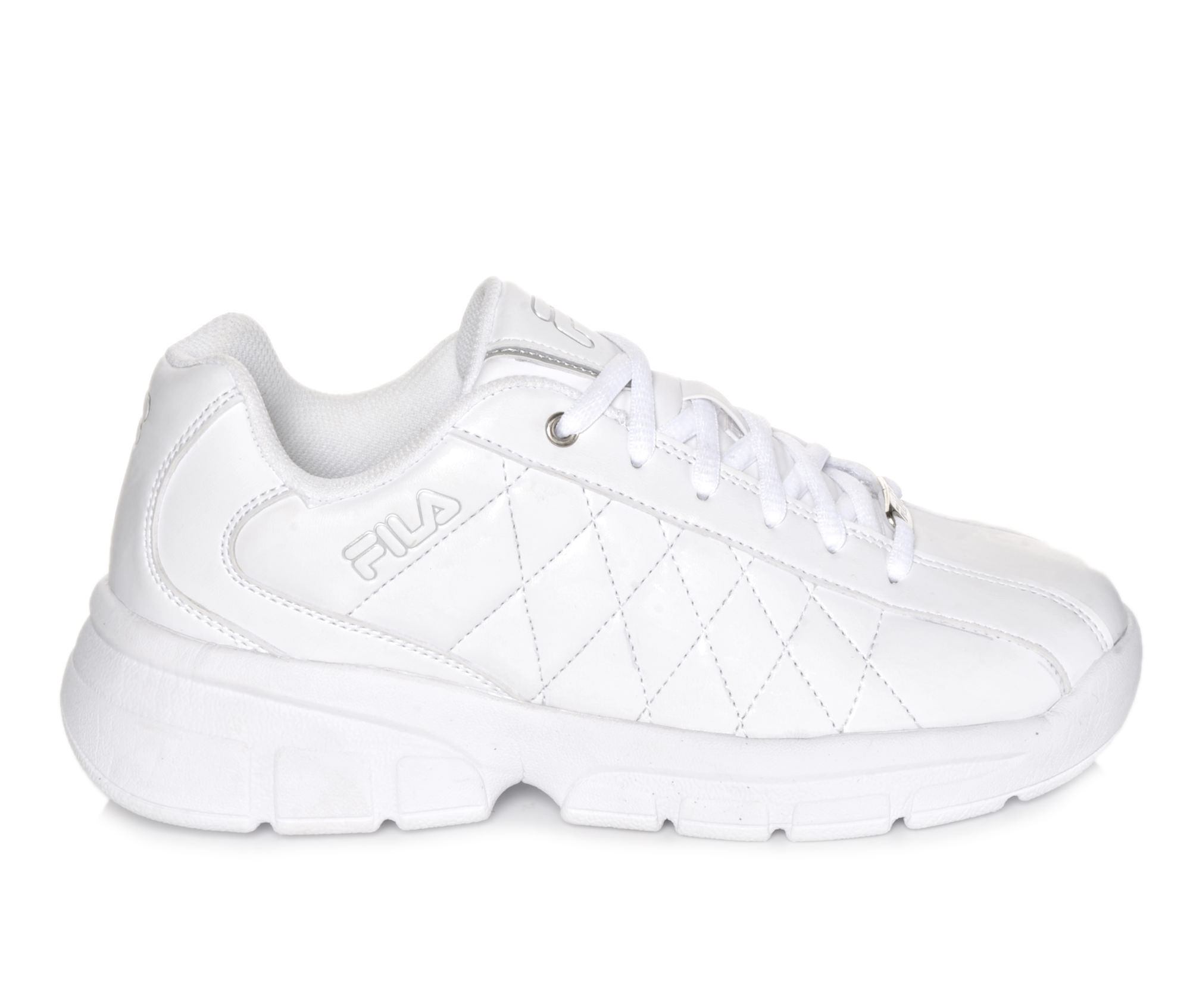 Fila Shoes Fila Fulcrum 3 Womens Sports Shoes White/Silver