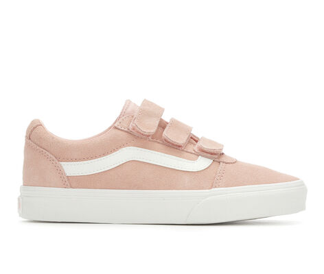 Women's Vans Ward Velcro Suede Skate Shoes