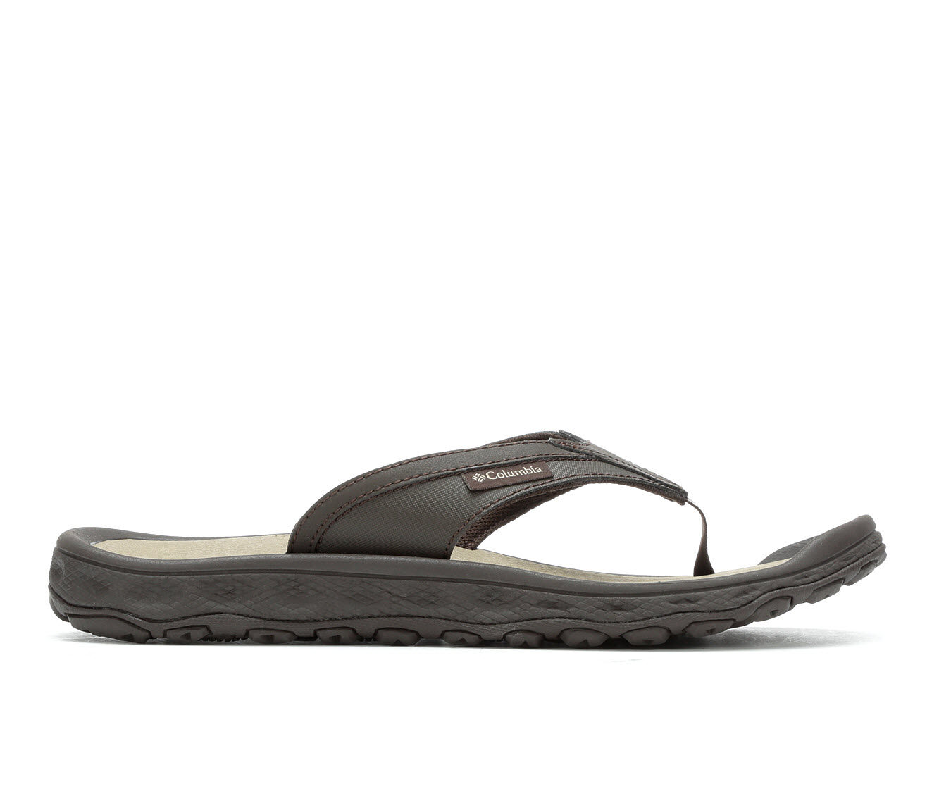 Men's Columbia Buxton Flip-Flops Cordo/Pebble