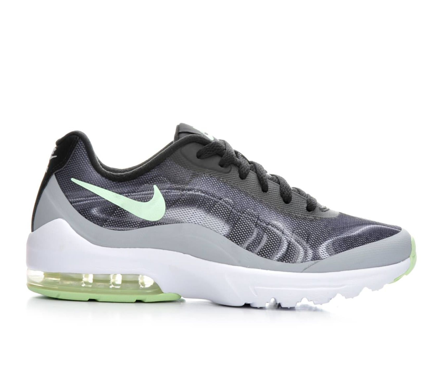 promo code 32563 1f9f2 ... Green Womens Nike Air Max Invigor Print Athletic Sneakers ...