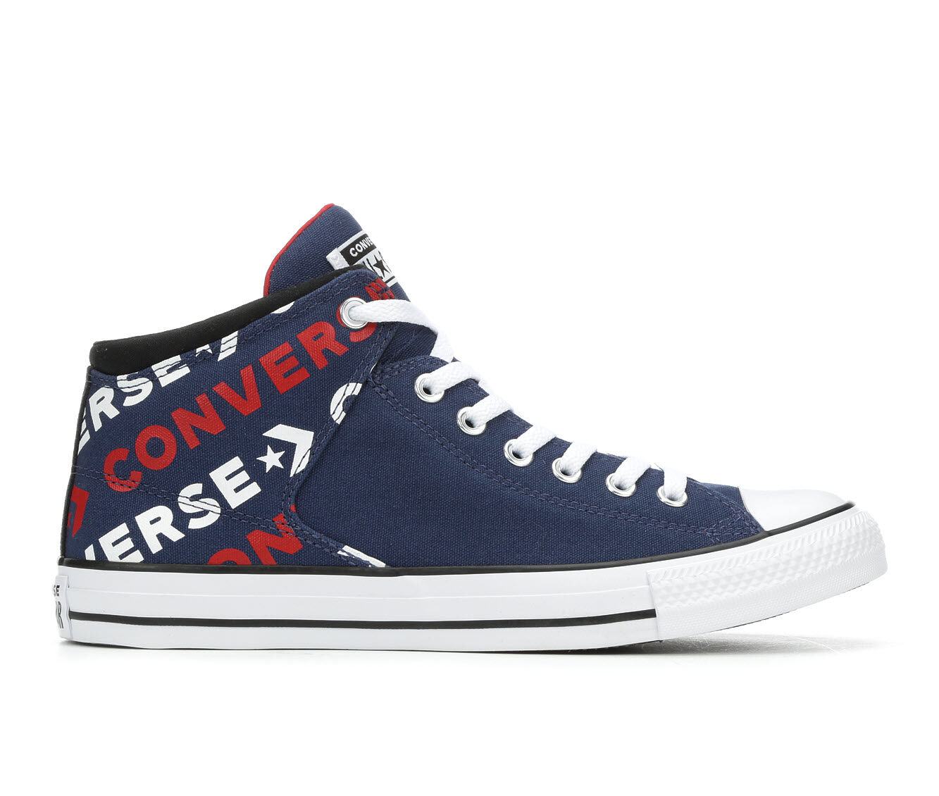 purchase export Men's Converse Chuck Taylor All Star Hi St Wordmark 2.0 High-Top Sneakers Navy/White/Red