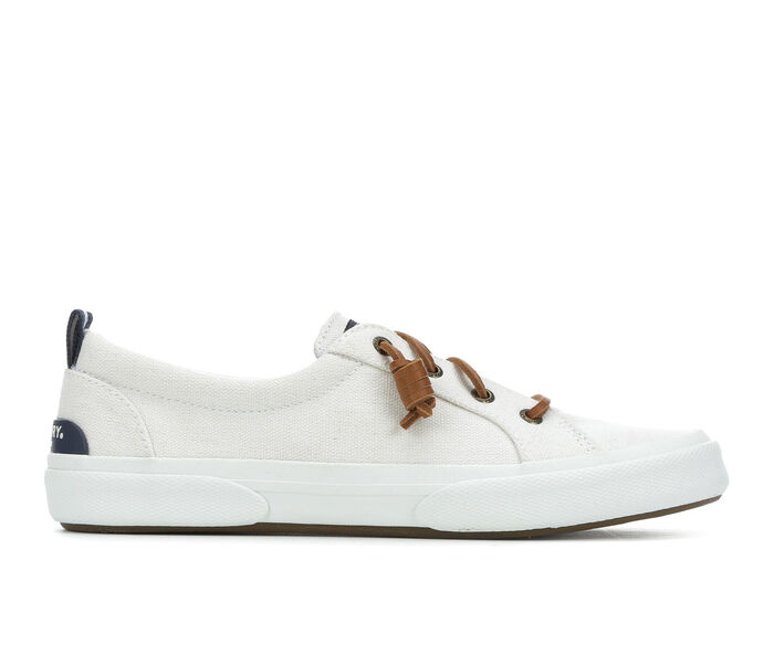 Women's Sperry Pier Wave Lace to Toe Canvas Sneakers