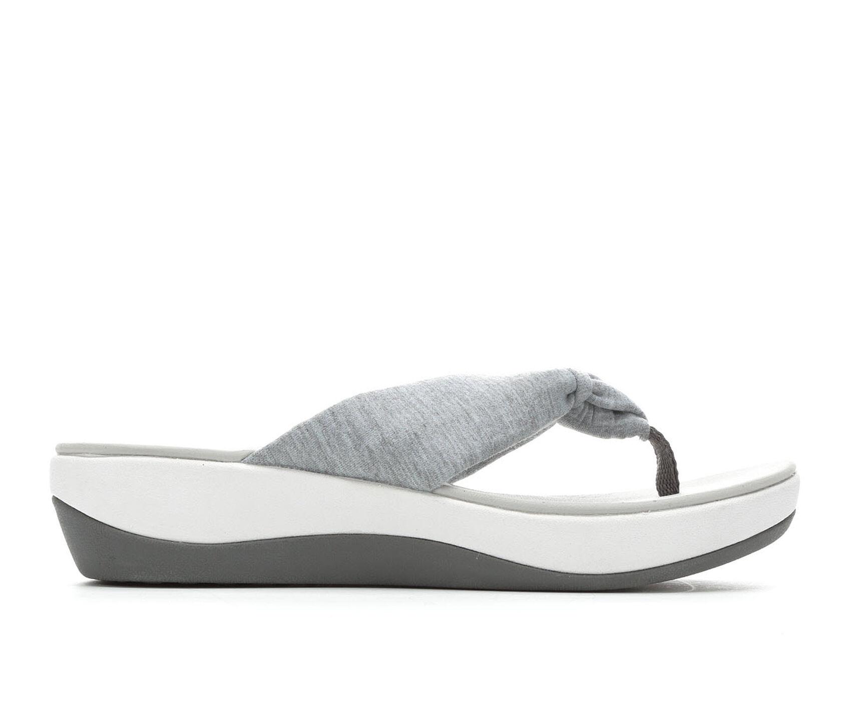 wide selection of colors look good shoes sale pick up Women's Clarks Arla Glison Cloudsteppers Flip-Flops