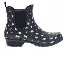 Women's Chooka Ditsy Daisy Chelsea Rain Boots