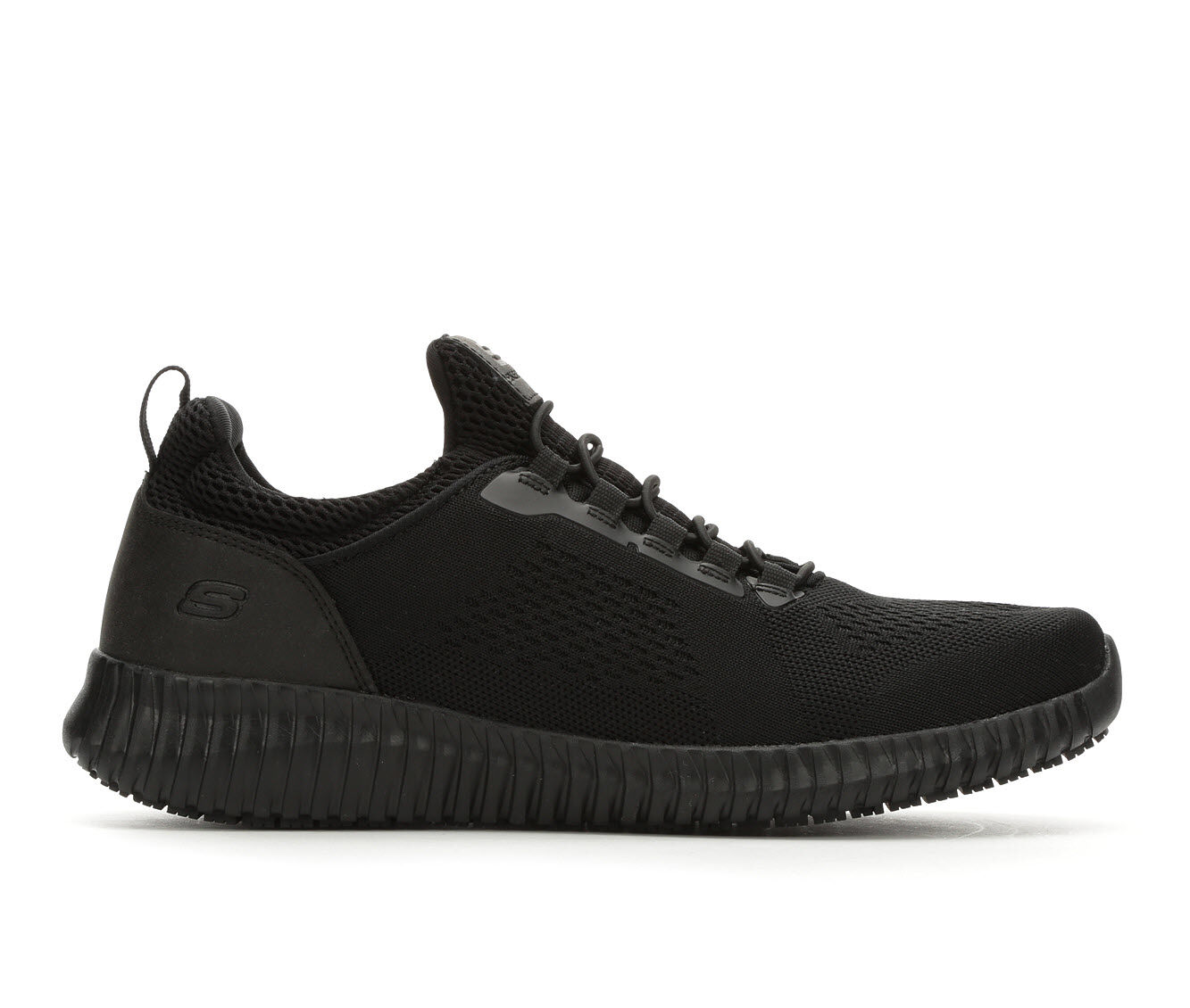 Men's Skechers Work Cessnock 77188 Safety Shoes Black
