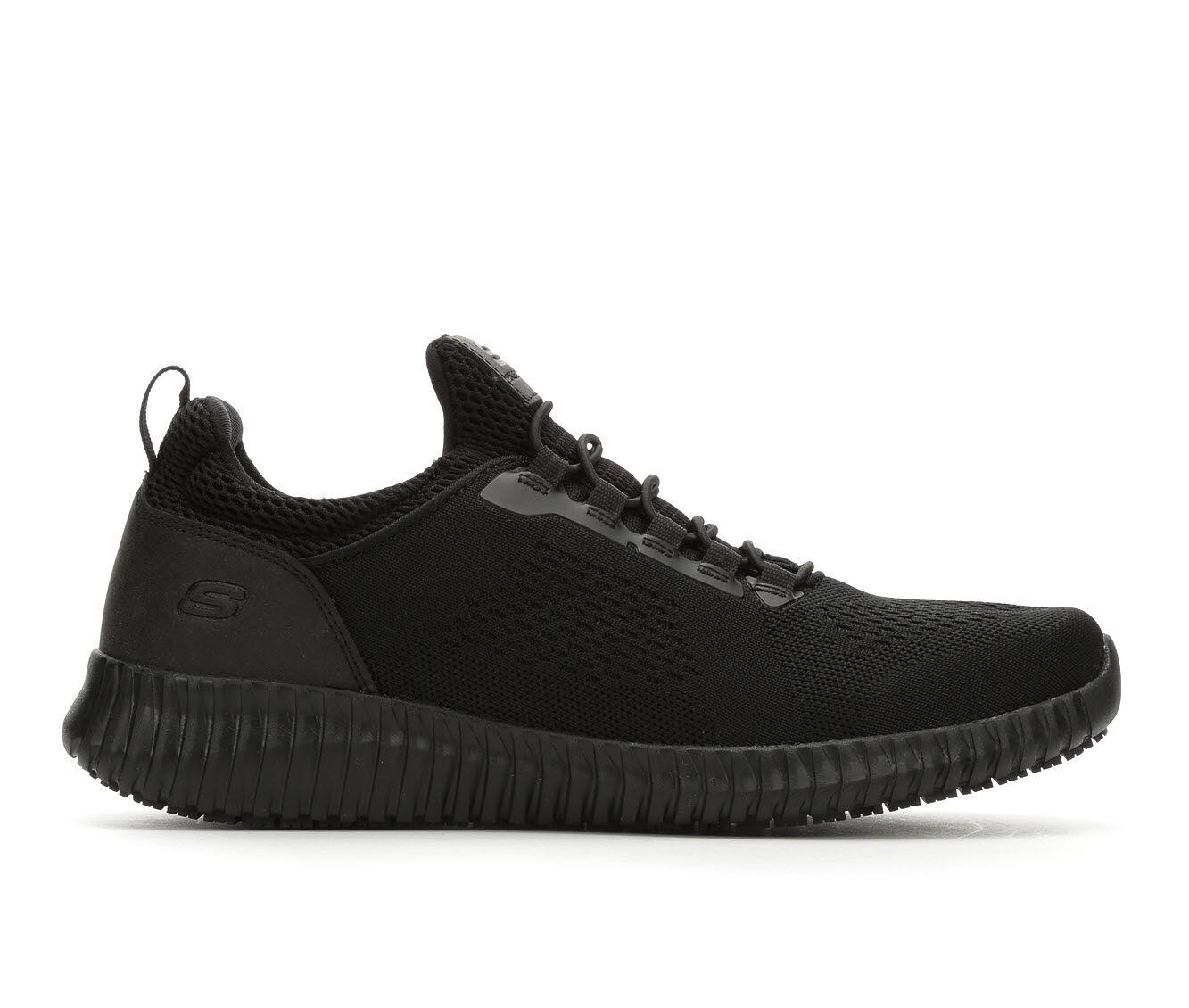 SKECHERS Work Cessnock Men's Slip Resistant Electrical Hazard Slip On Athletic Work Shoe