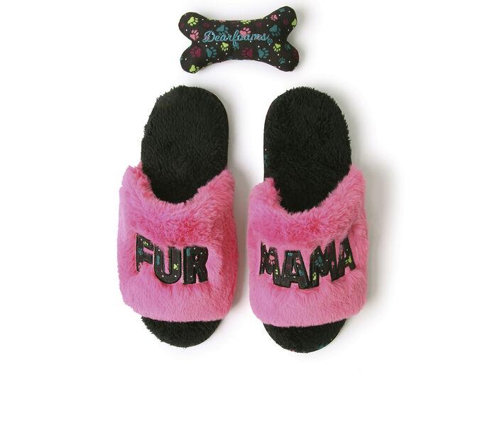 Dearfoams Novelty Slide Slippers