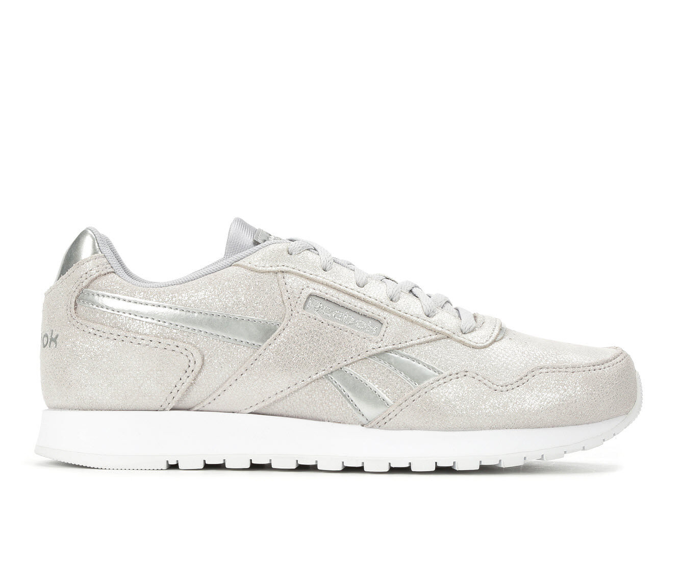 Complete Price Women's Reebok Classic Harman Run Retro Sneakers Silver/Met/Wht