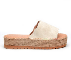 Women's Coconuts Palm Flatform Sandals