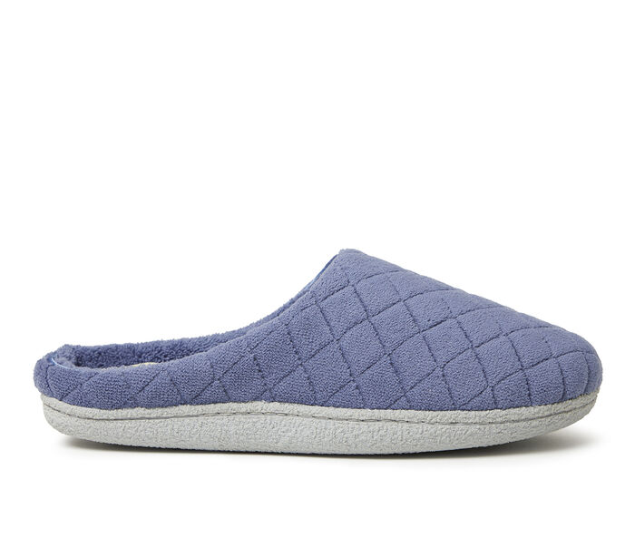 Dearfoams Quilted Microfiber Terry Clog Slippers
