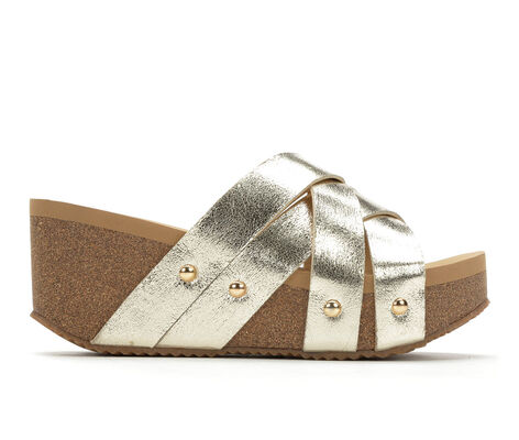 Women's Volatile Ethereal Platform Wedge Slide Sandals