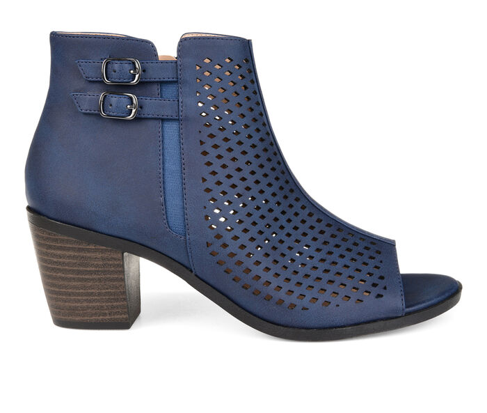 Women's Journee Collection Harlem Peep Toe Booties