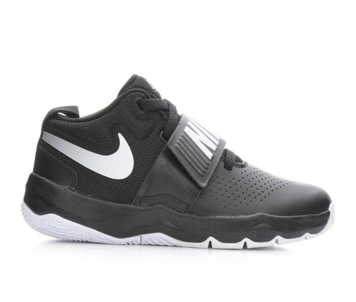 Boys' Nike Team Hustle D8 10.5-3 High Top Basketball Shoes