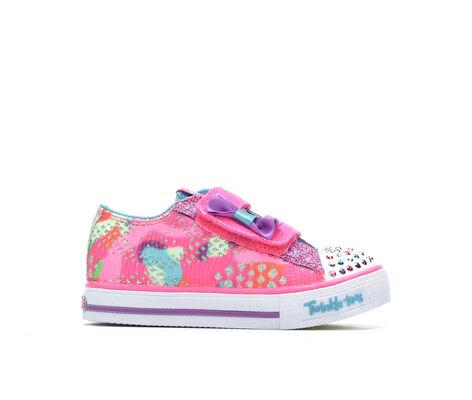 Girls' Skechers Infant Shuffles Little Lovely 5-10 Light-Up Sneakers