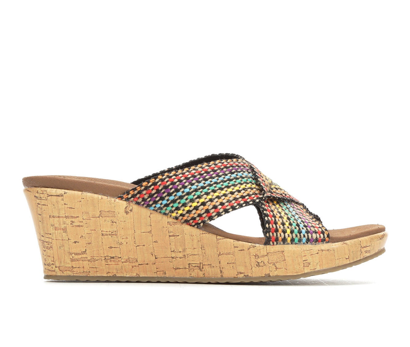 a snip of the price Women's Skechers Cali Delighted 38554 Sandals Multi