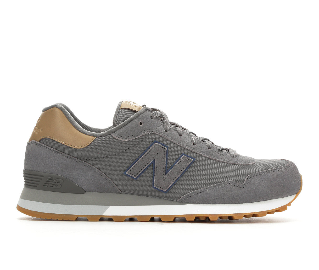 For Your Selection Men's New Balance ML515 Retro Sneakers Gry/Brown/Gum
