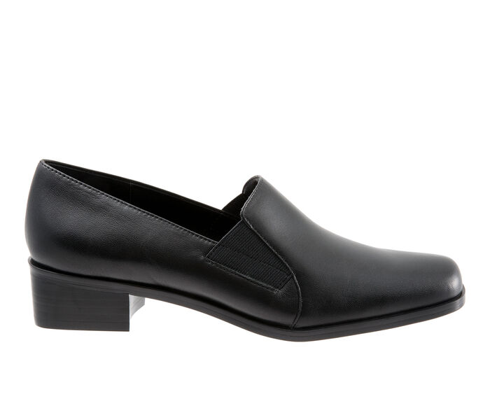 Women's Trotters Ash Heeled Loafers