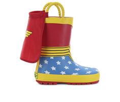 Girls' Western Chief Little Kid & Big Kid Wonder Woman Rain Boots