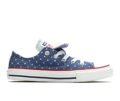 Girls' Converse CTAS Perf Star Double Tongue Sneakers