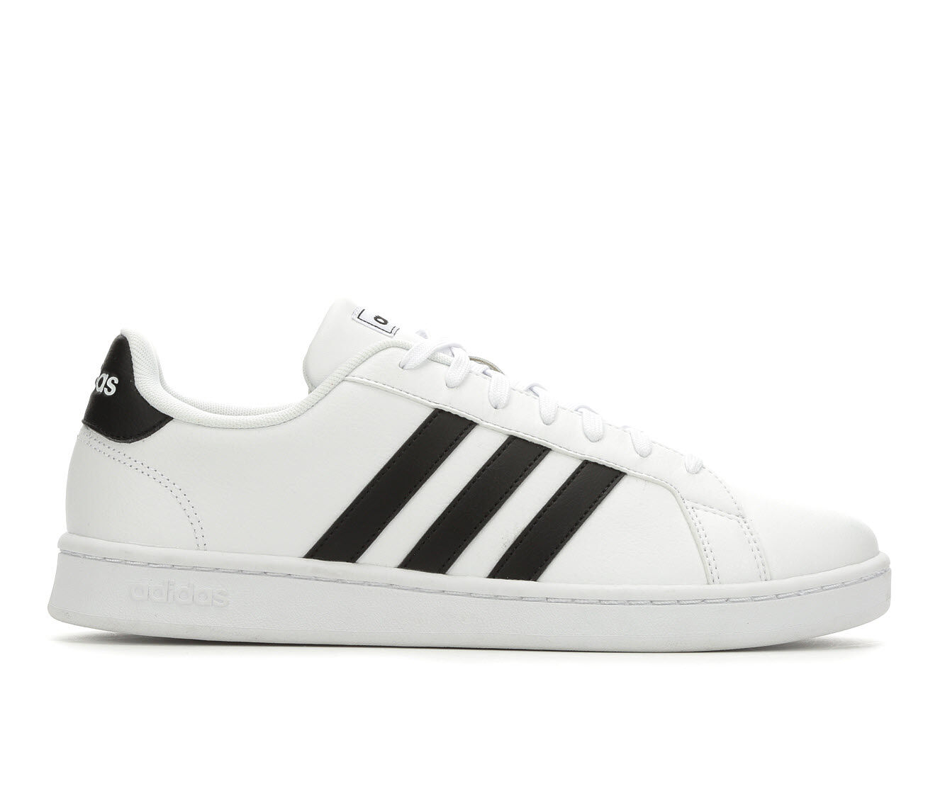 limited time Men's Adidas Grand Court Retro Sneakers Wht/Black