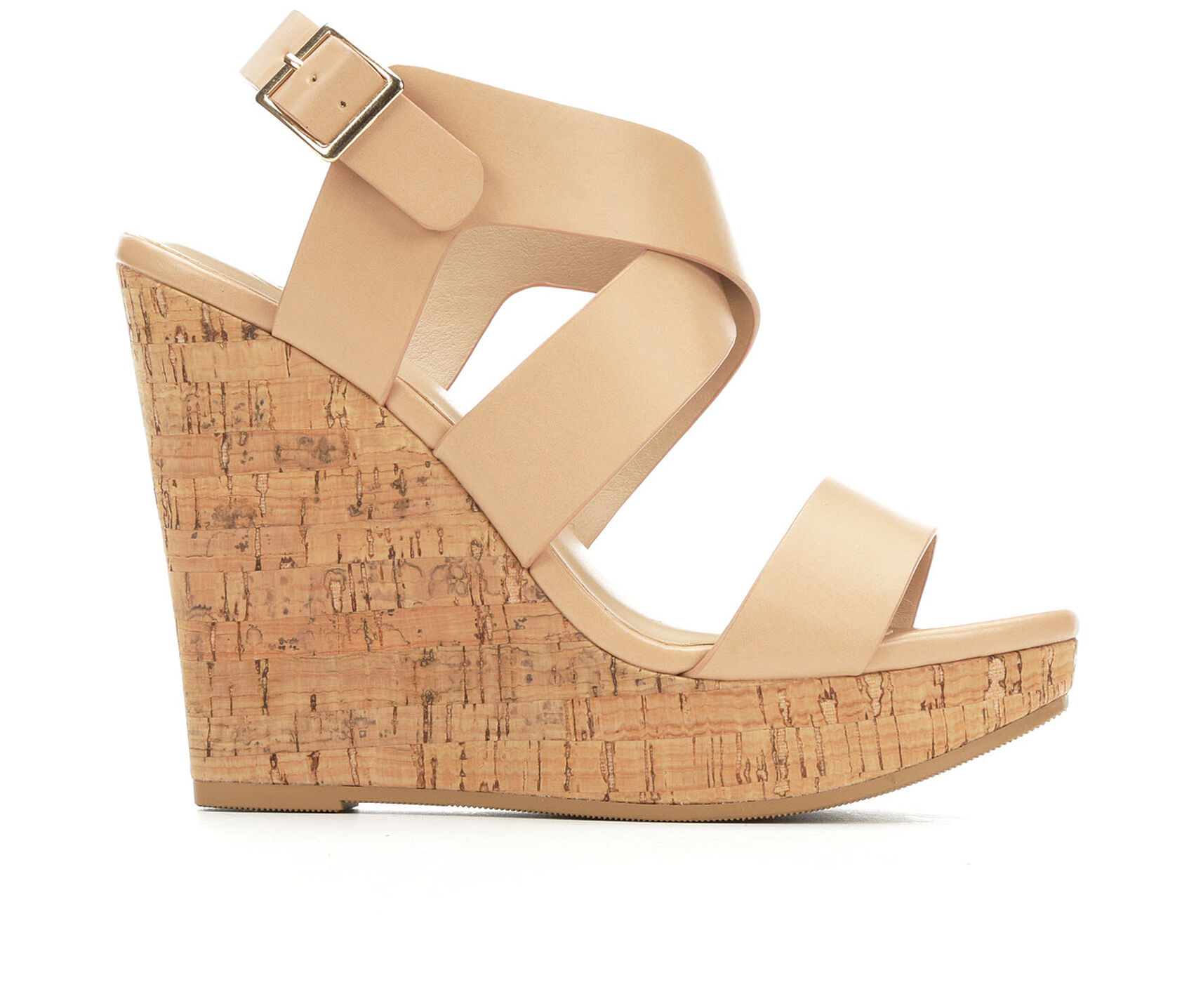 07cda43ae08 Women's Delicious Ontario Strappy Wedge Sandals