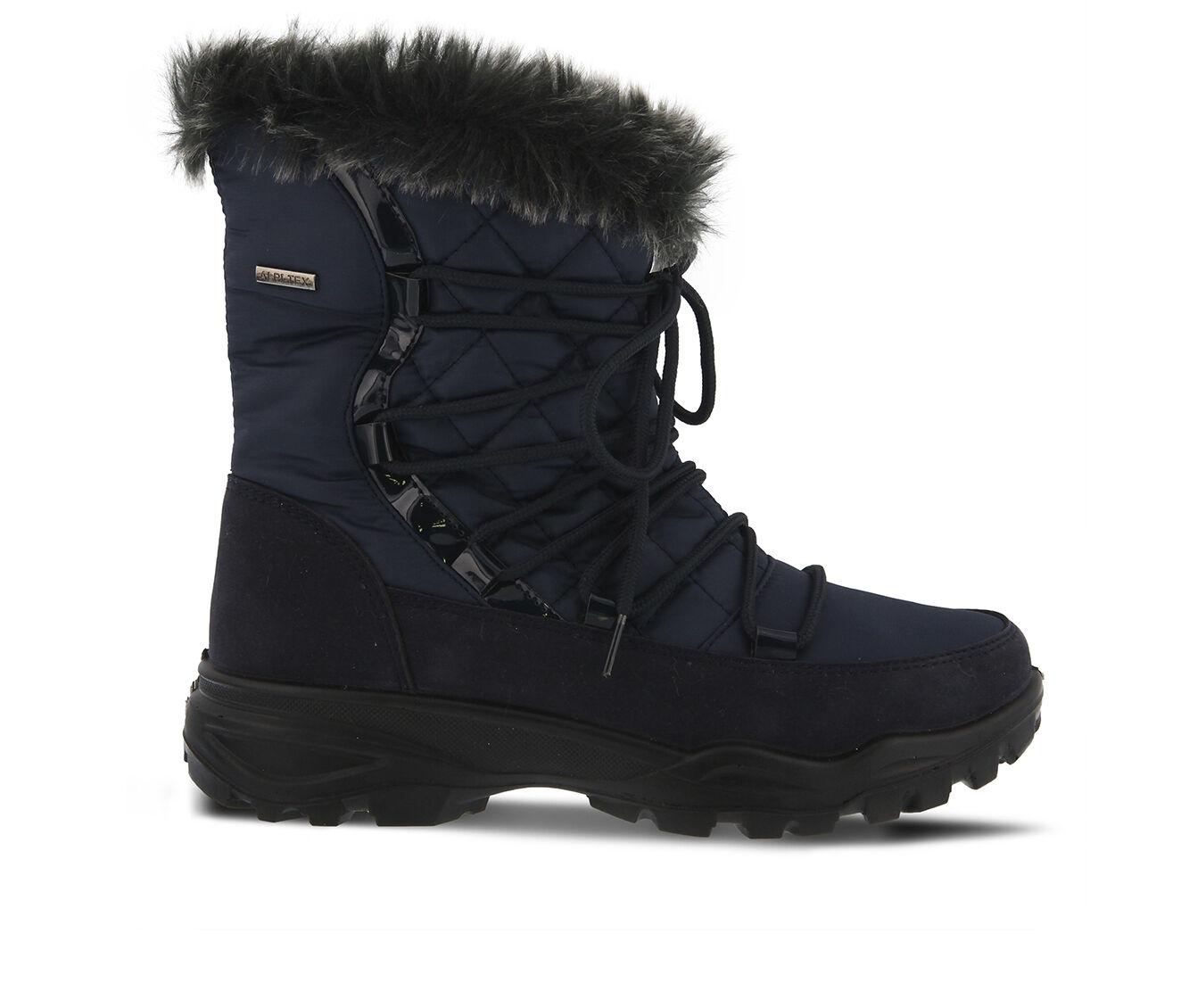 Women's FLEXUS Denilia Winter Boots Navy