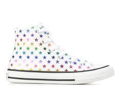 Girls' Converse Little Kid & Big Kid CTAS Star Foil Sneakers